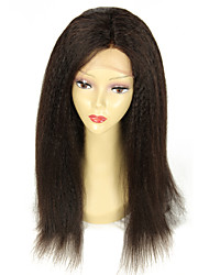 Unprocessed Virgin Malysian Human Hair Kinky Straight Full Lace Wig Glueless lace Wigs 150% Density Wigs