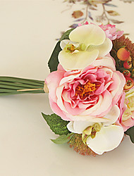 Man-Made Rose And  Hydrangea Bouquet