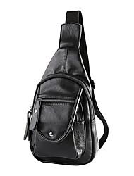 муж. Слинг сумки на ремне Полиуретан Черный