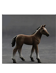 Pretend Play Action Figures & Stuffed Animals Model & Building Toy Toys Novelty Horse Plastic Black For Boys For Girls