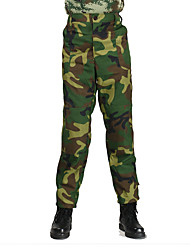 Unisex Bottoms Hunting Wearable Lightweight Materials Spring Summer Fall/Autumn Camouflage