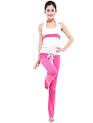 Yoga Ensemble de Vêtements/Tenus Extensible Vêtements de sport FemmeYoga