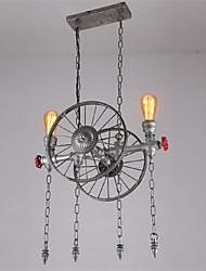 Retro Industrial Pendant Lights Simple Loft Metal Dining Room Kitchen Bar Cafe Light Fixture