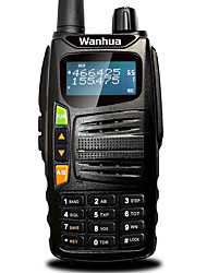 Wanhua GTS710 Walkie Talkie VHF 136-174MHZ UHF 400-480MHZ 128CH 5W VOX DTMF Portable Transceiver Two Way Radio