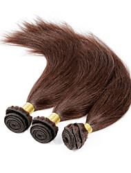Menschenhaar spinnt Brasilianisches Haar Gerade 3 Monate 1 Stück Haar webt