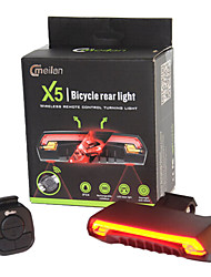 Bike Lights LED Laser LED Cycling Remote Control Waterproof Super Light Lithium Battery 80 Lumens Battery Cycling/Bike Outdoor