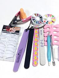 100pcs bout des ongles de style de type kit quantité d'emballage ongles nail art décoration nail art du bricolage