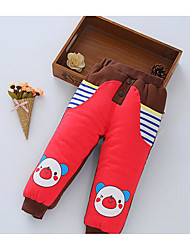 Baby Party/Cocktail Solid Pants,Silk Winter Red
