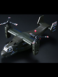 Planes & Helicopters Pull Back Vehicles 1:10 Metal Black