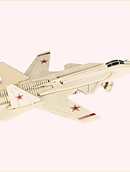 Jigsaw Puzzles Wooden Puzzles Building Blocks DIY Toys Sue-47 Fighter 1 Wood Ivory Model & Building Toy
