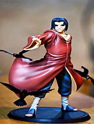 Las figuras de acción del anime Inspirado por Naruto Itachi Uchiha PVC 18 CM Juegos de construcción muñeca de juguete