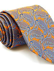 UXL26 Mens Necktie  Multicolor Paisley 100% Silk New Wedding Fashion For Men