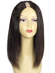Short Bob Cut U Part Wigs Human Hair Upart Wig Bob Style U Shaped Wig Middle Part 150% Density Fast Shipping