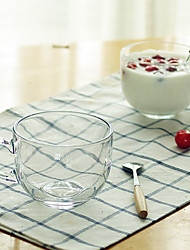 Transparent Classic Drinkware 470 ml BPA Free Glass Tea Coffee Tea Cup
