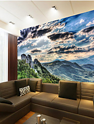 Art Deco Wallpaper For Home Wall Covering Canvas Adhesive required Mural Blue Landscape XXXL(448*280cm)XXL(416*254cm)XL(312*219cm)