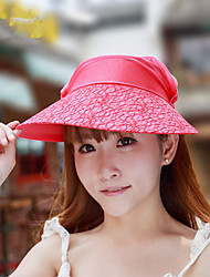 New Ladies Lace Visor Cap Summer Outdoor Cycling Sun Cap Visor Cap
