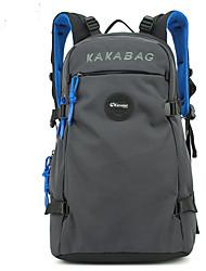 55 L Rucksack tragbar Rot Grau Schwarz Blau