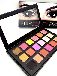 Lidschattenpalette Trocken Lidschatten-Palette PuderCateye Makeup Smokey Makeup Alltag Make-up Halloween Make-up Party Make-up Feen