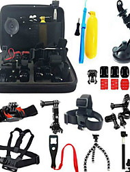 Accessory Kit For Gopro Bundle Kit Anti-Shock All in One ForXiaomi Camera Gopro 5 Gopro 4 Gopro 3 Gopro 2 Gopro 1 Sports DV ION Air Pro 3