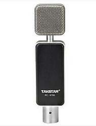Takstar pc-k700usb utile chaud câblé haute qualité microphone à condensateur stéréo pour PC portable