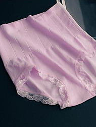 Women Sexy Solid Shaping Panties Briefs  Underwear,Lace Polyester
