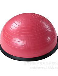 55 см. Мячи для фитнеса ПВХ зеленый розовый синий Унисекс Other