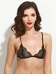 Women's Sexy Thin 3/4 cup Bras,Lace Bras / Padless Bra Lace