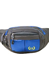 2 L Belt Pouch/Belt Bag Daypack Waist Bag/Waistpack Camping & Hiking Climbing Leisure Sports Traveling Outdoor PerformanceWaterproof Dust