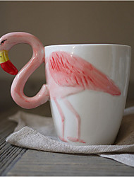 Novelty Drinkware, 400 ml BPA Free Bone China Coffee Milk Coffee Mug Travel Mugs