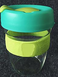 Transparente Sportif Articles pour boire, 320 ml Portable Sans BPA Silicone Polypropylène jus Eau Tumbler