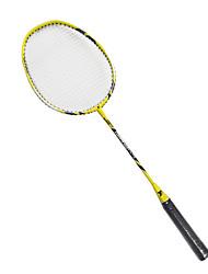 Raquettes de badminton(Jaune,Alliage d'aluminium) -Durable