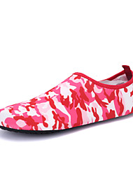 Women's Loafers & Slip-Ons Comfort Light Soles Fabric Spring Summer Fall Winter Outdoor Athletic Water Shoes Flat HeelBlack Rose Pink Red