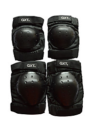 GXT G06 4 Piece/Set Short Knee Elbow Protector Motorcycle Motorbike Motorcross Gear Motocross Motorcycle Knee Protection
