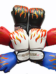 Boxing Gloves Full-finger Gloves Unisex Breathable Wearable Tactical Protective Boxing PU White Red Black Blue