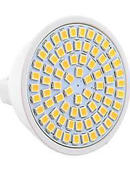 7W GU5.3(MR16) Spot LED MR16 72 SMD 2835 600-700 lm Blanc Chaud Blanc Froid Décorative V 1 pièce