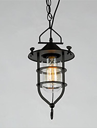 40W American Retro Rural Village Dock Bar Lounge Dining Room Chandelier