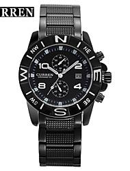 Men's Women's Unisex Sport Watch Military Watch Fashion Watch Wrist watch Quartz Calendar Alloy Band Vintage Casual Multi-Colored