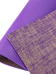 PVC Mats Yoga Eco-friendly Inodore 6 mm Viola Other