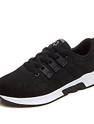 Homme-Sport-Noir Rouge Gris-Talon Plat-Soles lumière-Chaussures d'Athlétisme-Tissu