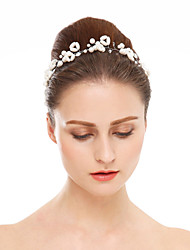 Women's Imitation Pearl Headpiece-Wedding Special Occasion Headbands 1 Piece