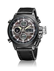 Men's Women's Unisex Sport Watch Dress Watch Fashion Watch Wrist watch Digital Watch Quartz Digital Genuine Leather Band Charm Casual