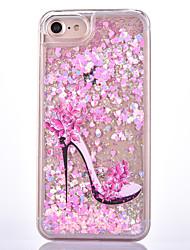 Pour Liquide Motif Coque Coque Arrière Coque Femme Sexy Dur Polycarbonate pour Apple iPhone 7 Plus iPhone 7