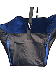 Cat Dog Car Seat Cover Pet Mats & Pads Waterproof Foldable Black Blue Brown Nylon