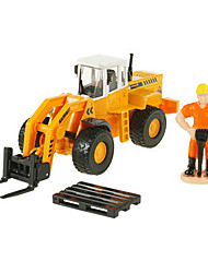 Construction Vehicle Toys Car Toys 1:50 Metal ABS Plastic Yellow Model & Building Toy