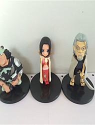 Figuras de Ação Anime Inspirado por One Piece Fantasias PVC 8 CM modelo Brinquedos Boneca de Brinquedo