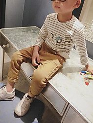 Boy Casual/Daily School Solid Pants-Cotton Spring Fall