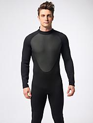 MYSENLAN® Men's Clothing Sets/Suits Diving Suit Breathable Drysuits 1.5 to 1.9 mm Black S M L XL XXL Free Size Diving