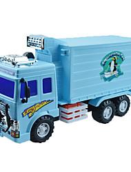 Baufahrzeuge Pull Back Fahrzeuge 1:25 Plastik Metall Marinenblau