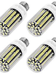 12W E26/E27 LED лампы типа Корн T 136 SMD 5733 1100 lm Тёплый белый Декоративная AC 220-240 V 4 шт.