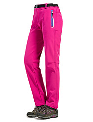 Women Outdoor Sports Casual Trousers Quick-Drying Hiking Soft Shell Winter Ski Fleece Pants Warm(More Color)
